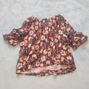 Gymboree. Girls Floral Blouse.